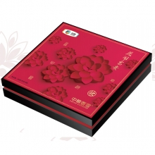 中粮花开富贵(苏式)月饼礼盒