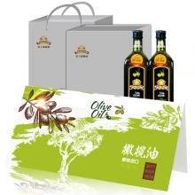 帝王原装进口橄榄油250ml*2金质礼盒礼劵礼品卡
