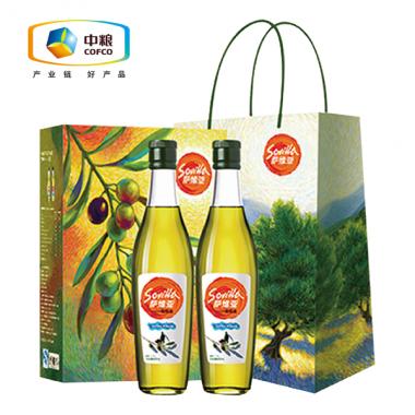 中粮萨维亚橄榄油500ML*2礼盒装