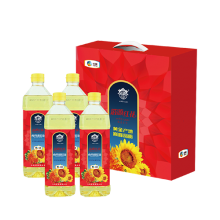 中粮塔原红花籽调和油礼盒4瓶装