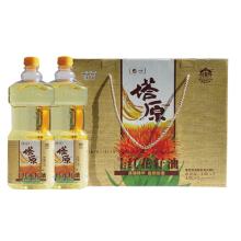 中粮塔原红花籽油礼盒