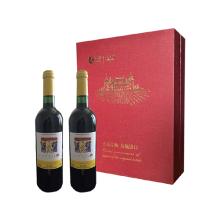 中粮法国进口卡普锐斯香吻干红葡萄酒礼盒