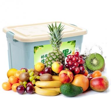 珍优鲜水果「缤纷颜果588型」水果礼盒