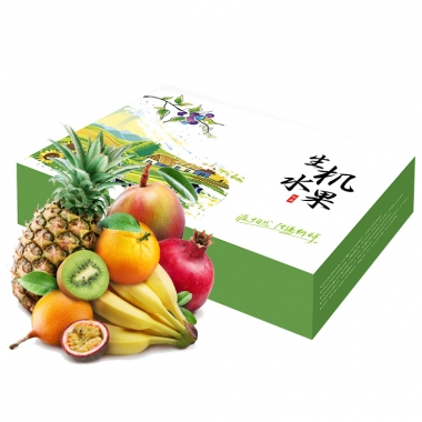 珍优鲜水果「缤纷甄果218型」水果礼盒