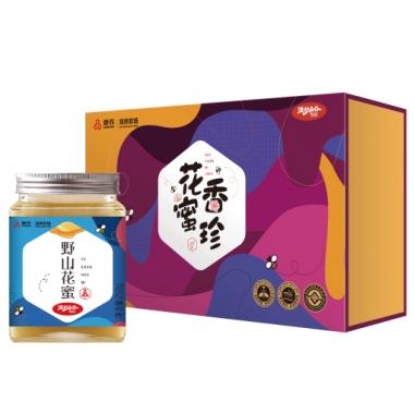 首农双桥农场花香蜜珍蜂蜜礼盒