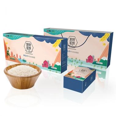 首农双河尚品贡长粒香米礼盒