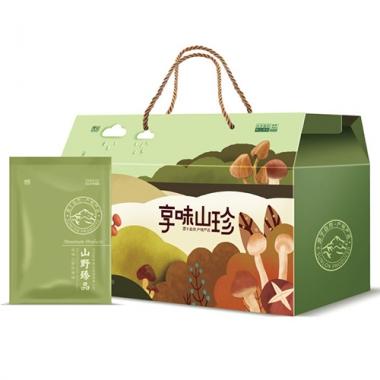 首农商业连锁京乡一见如菇礼盒