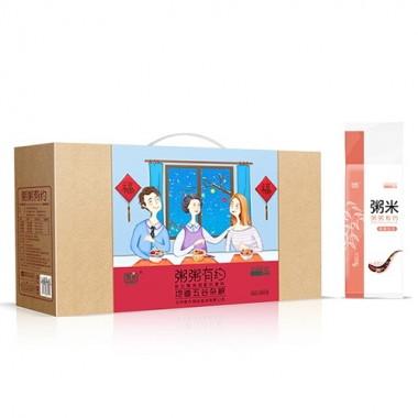 首农商业连锁京乡粥粥有约粥礼盒
