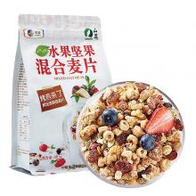 中粮山萃水果坚果烤燕麦片